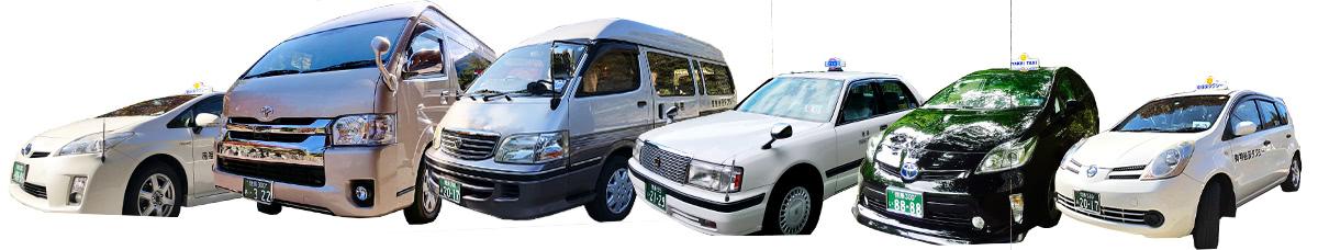 祖谷渓タクシー保有車両の紹介