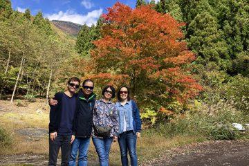 奥祖谷の紅葉