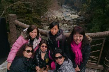 台湾~四国の秘境、祖谷をジャンボタクシーで観光(^^)d