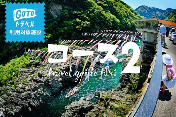🚩人気No2【大歩危・祖谷観光コース+観光ガイド付き・3時間13,140円】