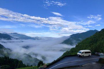 今朝の雲海