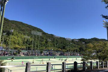 西祖谷中学校 テニス部遠征