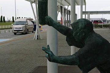 ロケハン 徳島空港へお迎えの様子